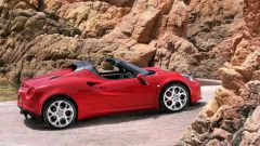 Alfa Romeo 4C Spider: vista laterale