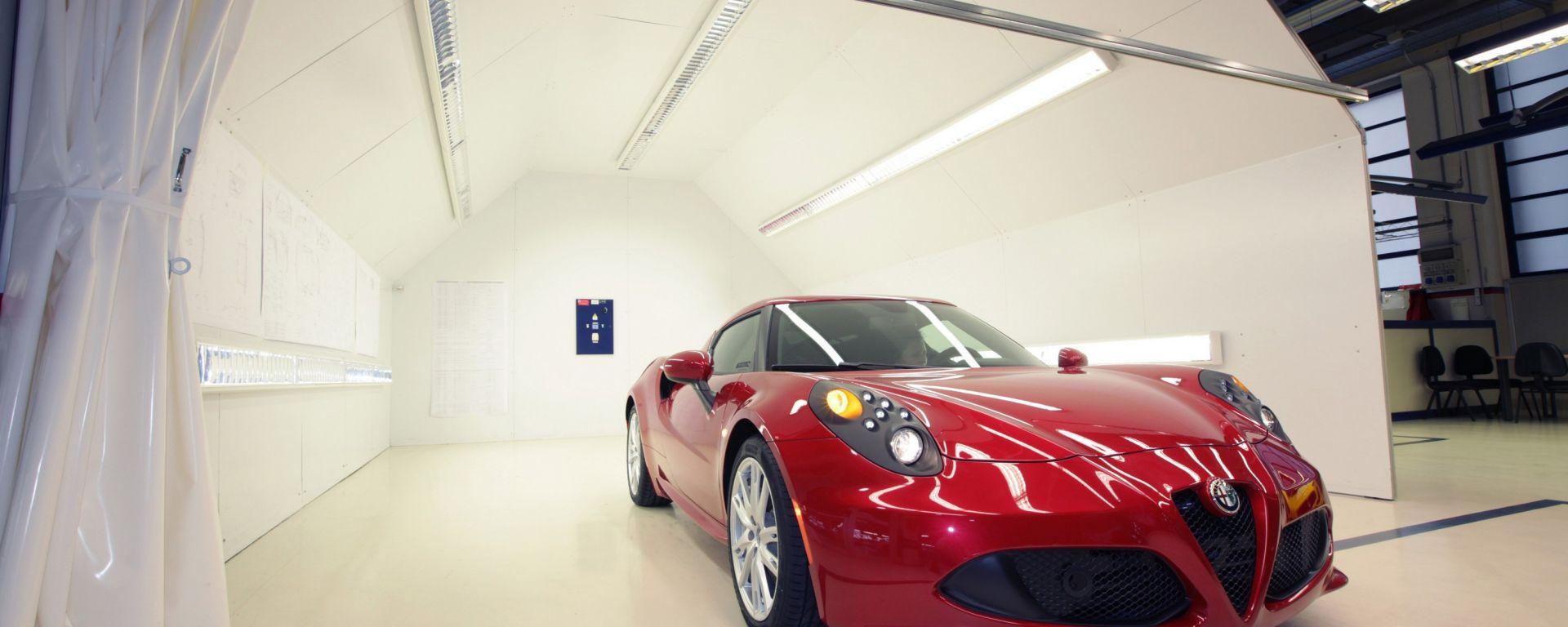 Alfa Romeo 4C: tutto quello che non si vede