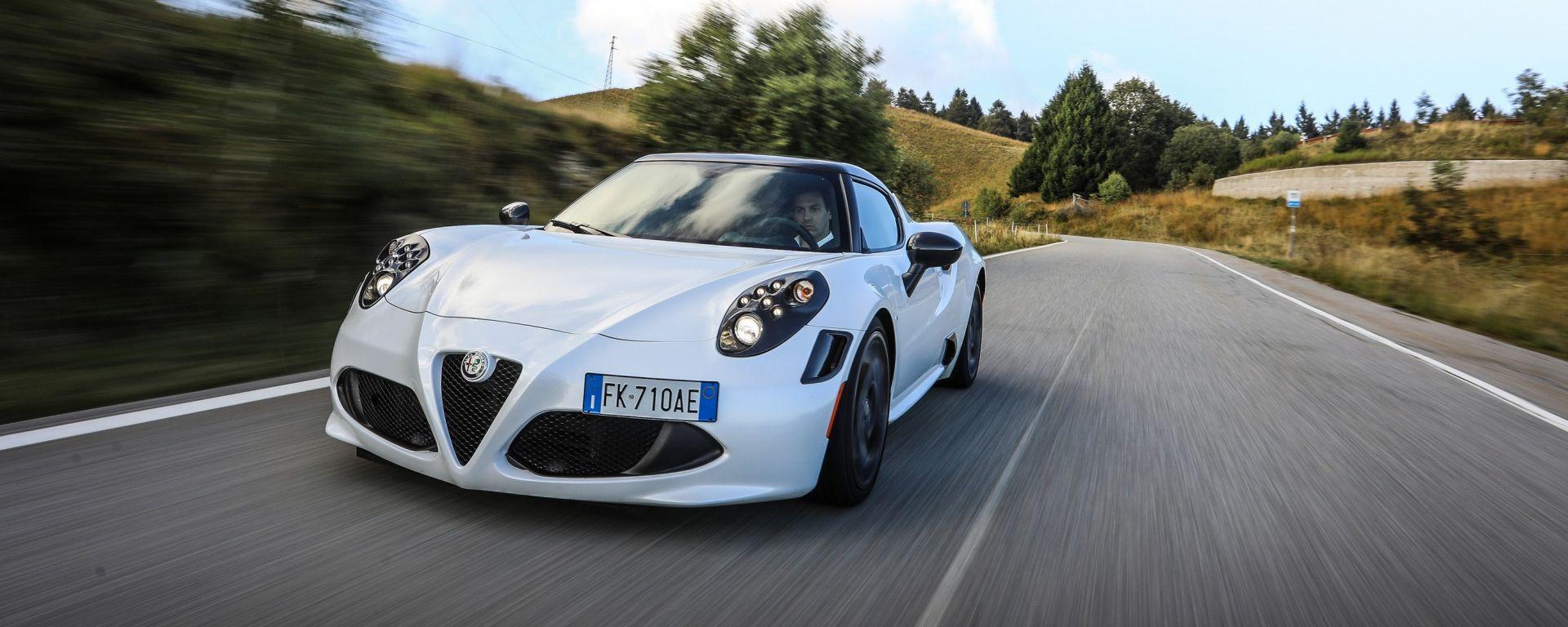 Alfa Romeo 4C: uno scatto dalla nostra prova su strada