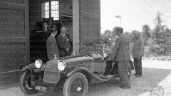 Alfa Romeo 6C 1750 SS appartenuta a Benito Mussolini (Istituto Luce)