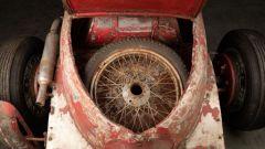 Alfa Romeo 6C 1750 SS: dettaglio ruota di scorta