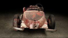 Alfa Romeo 6C 1750 SS: il posteriore