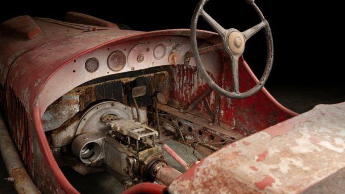 Alfa Romeo 6C 1750 SS: le condizioni dell'abitacolo