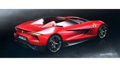 Nuova Alfa Romeo 6C: i bozzetti del designer Alfa-Maserati - Immagine: 2