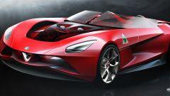 Nuova Alfa Romeo 6C: i bozzetti del designer Alfa-Maserati - Immagine: 1