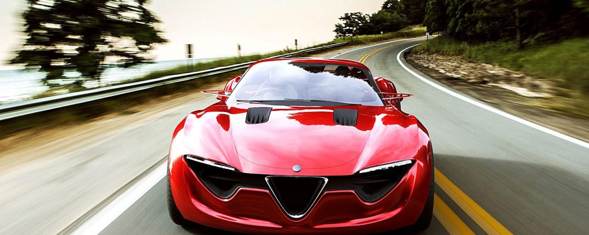 X Lg on Alfa Romeo 4c