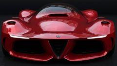 Alfa Romeo 8C: ecco come dovrebbe essere la nuova supercar - Immagine: 2