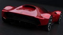Alfa Romeo 8C: ecco come dovrebbe essere la nuova supercar - Immagine: 4
