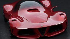 Alfa Romeo 8C: ecco come dovrebbe essere la nuova supercar - Immagine: 6