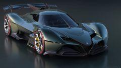 Alfa Romeo 8C-R Tazio: darebbe filo da trocere a Koenigsegg e Bugatti