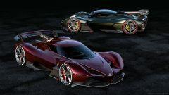 Alfa Romeo 8C-R Tazio: i rendering della ipotetica hypercar italiana