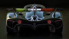 Alfa Romeo 8C-R Tazio: orgoglio italiano dipinto sull'ala posteriore
