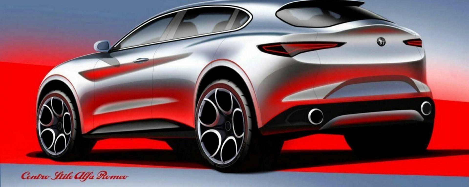 Alfa Romeo B-Suv, che aspetto avrà il terzo sport utility della compagnia?
