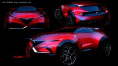 Alfa Romeo B-SUV concept - Courtesy of Minwoong Im