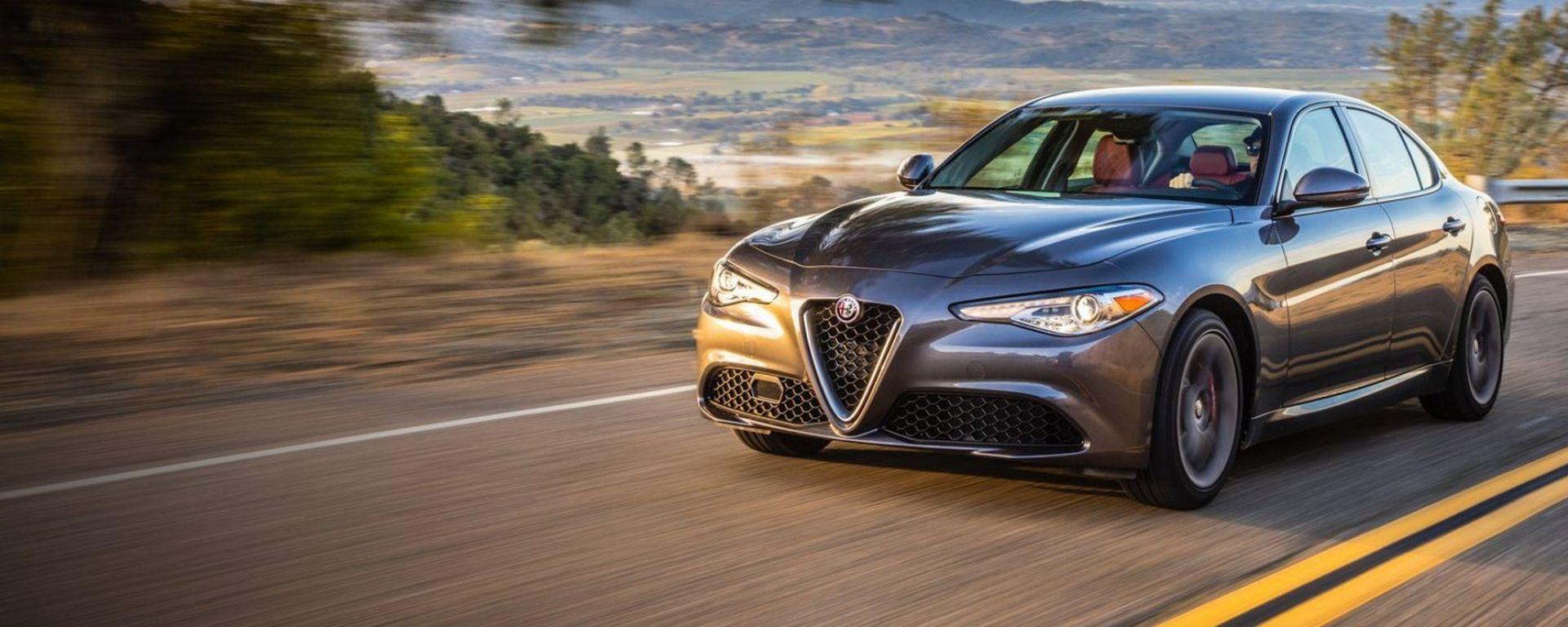 Alfa Romeo, boom di vendite negli Usa