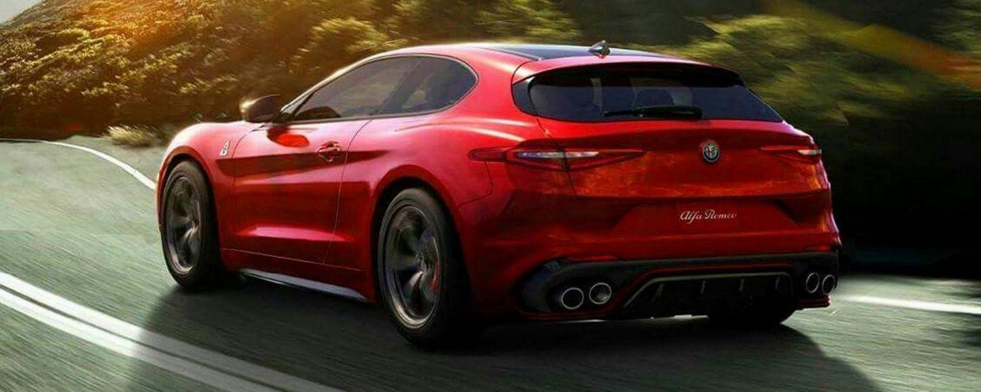 Alfa Romeo Brera: il rendering del 2016