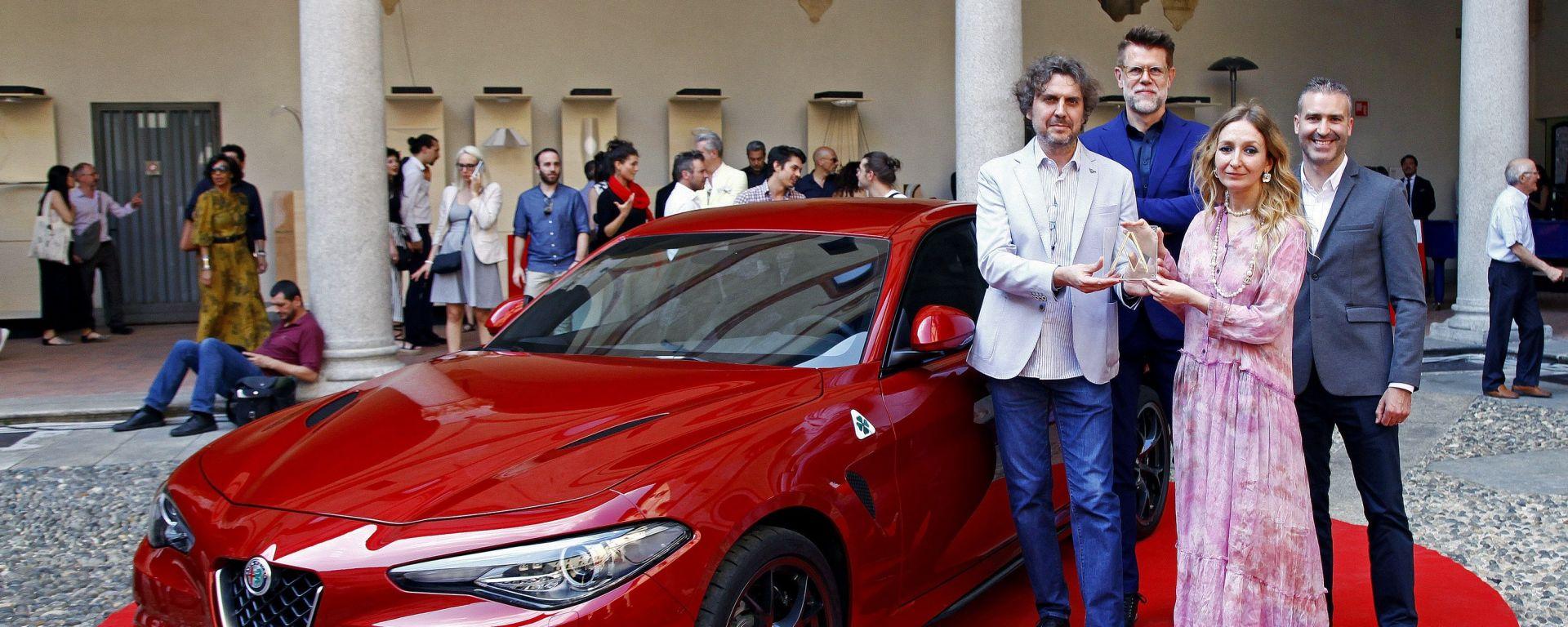 Alfa Romeo: Compasso d'Oro ADI per la Giulia