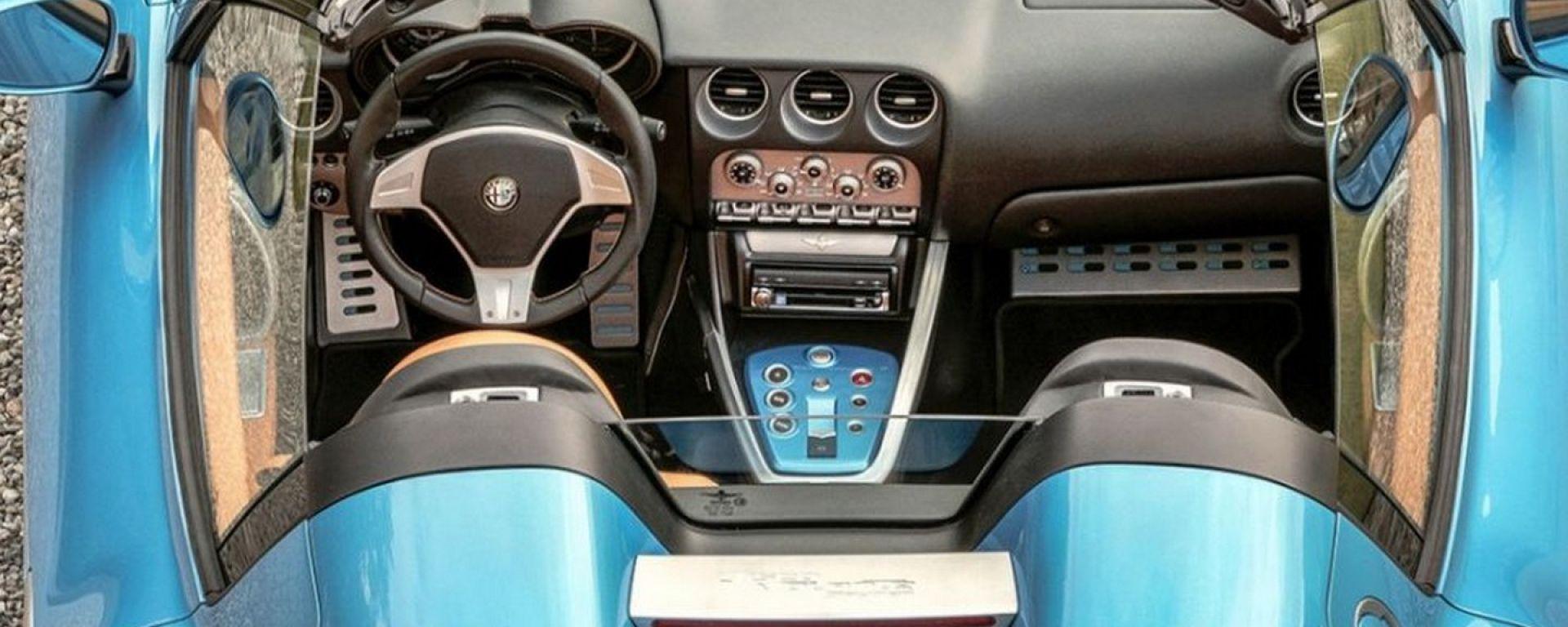 Alfa Romeo Disco Volante Spyder by Touring Superleggera