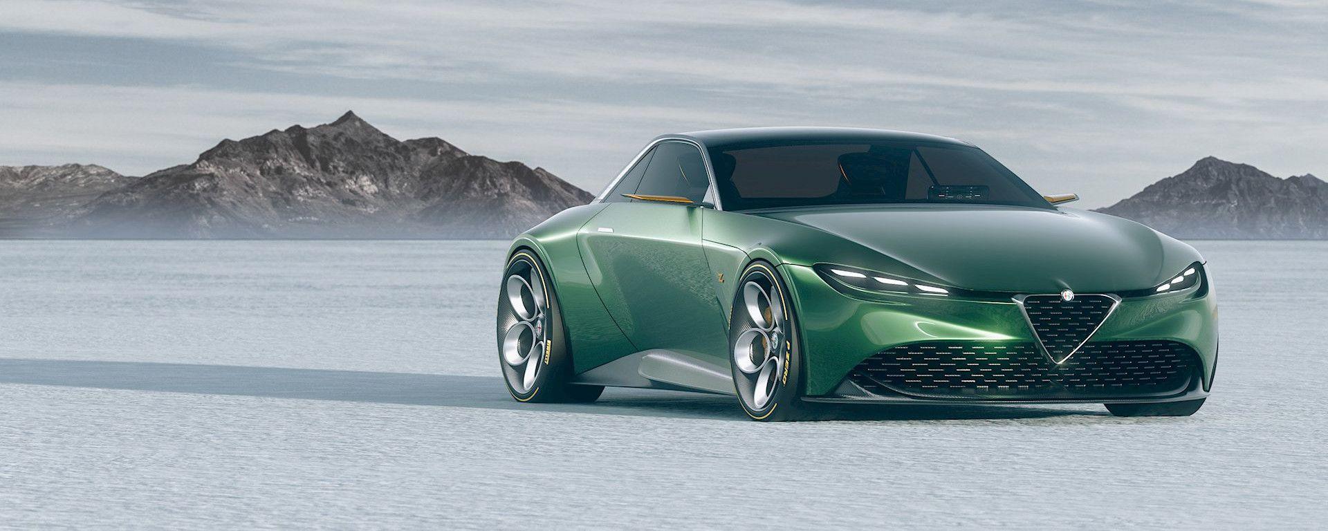 Alfa Romeo e Zagato: GT Junior Coupe, un rendering da paura