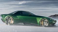 Alfa Romeo e Zagato, GT Junior Coupe vista di lato