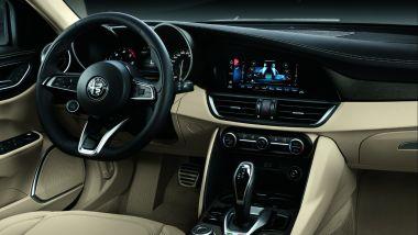 Alfa Romeo Giulia 2020, gli interni