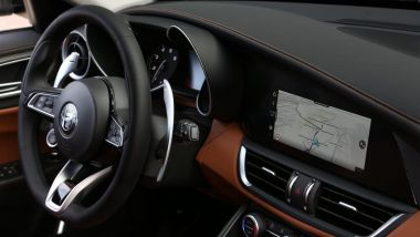 Alfa Romeo Giulia 2020: i nuovi interni e l'infotainment