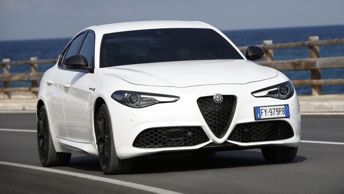 Alfa Romeo Giulia 2020, il posteriore