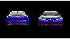 Alfa Romeo Giulia 2021: fronte e retro