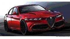 Alfa Romeo Giulia 2021: i primi disegni