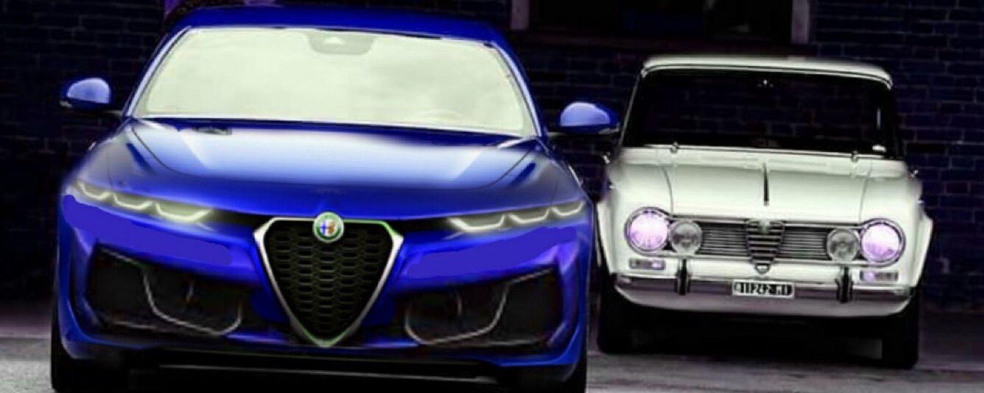 Alfa Romeo Giulia 2021: i primi rendering