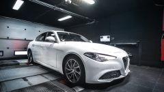 Alfa Romeo Giulia 2.2 Jtdm 180 CV by BR-Performance al banco dinamometrico