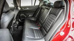 Alfa Romeo Giulia 2.2 Turbo diesel 180 CV: i sedili posteriori