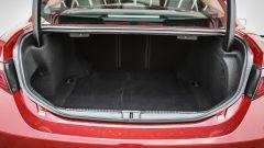 Alfa Romeo Giulia 2.2 Turbo diesel 180 CV: il bagagliaio