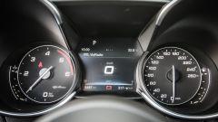 Alfa Romeo Giulia 2.2 Turbo diesel 180 CV: il quadro strumenti