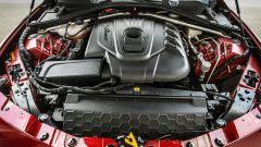 Alfa Romeo Giulia 2.2 Turbo diesel 180 CV: il vano motore