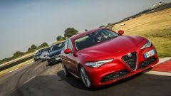 Alfa Giulia, Audi A4, Bmw Serie 3 e Mercedes Classe C: prova confronto - Immagine: 1