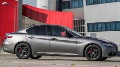 Alfa Romeo Giulia B-Tech, vista laterale