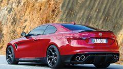 Alfa Romeo Giulia Coupe ibrida: qualcosa si sta muovendo - Immagine: 1