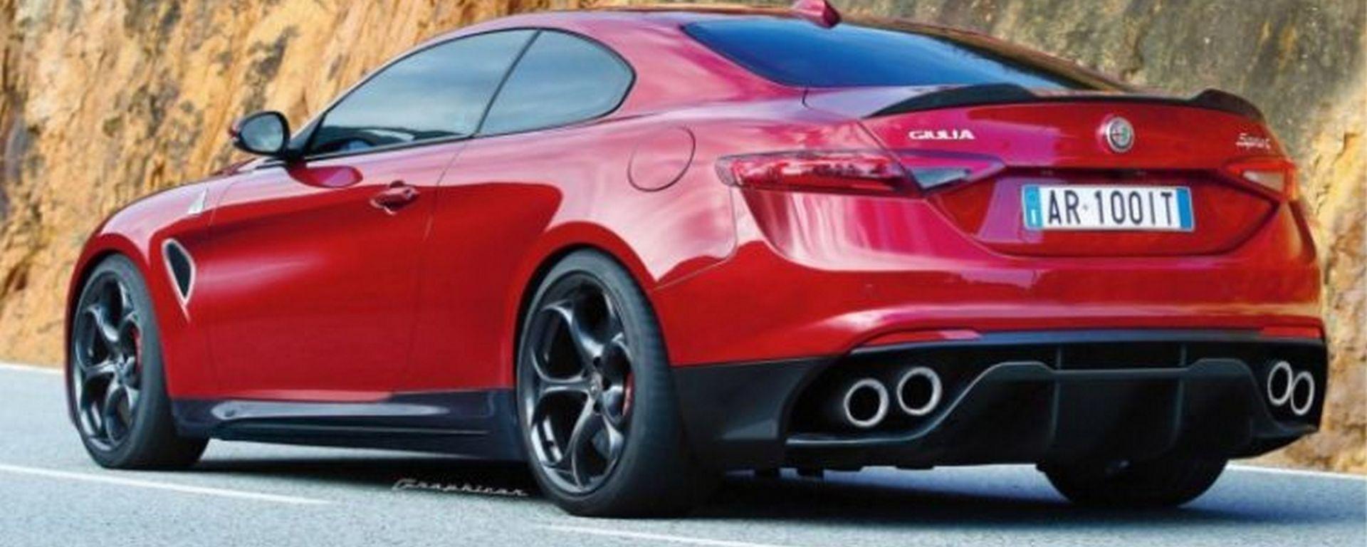 Alfa Romeo Giulia Coupe 2019 A Motore Ibrido Da 641 Cv Si Fara O No