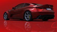 Alfa Romeo Giulia Coupé, il render di LP Design