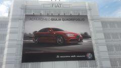 Alfa Romeo Giulia e Giulia Quadrifoglio: al Lingotto con due affissioni da record