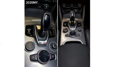 Alfa Romeo Giulia e Stelvio la foto del cambio