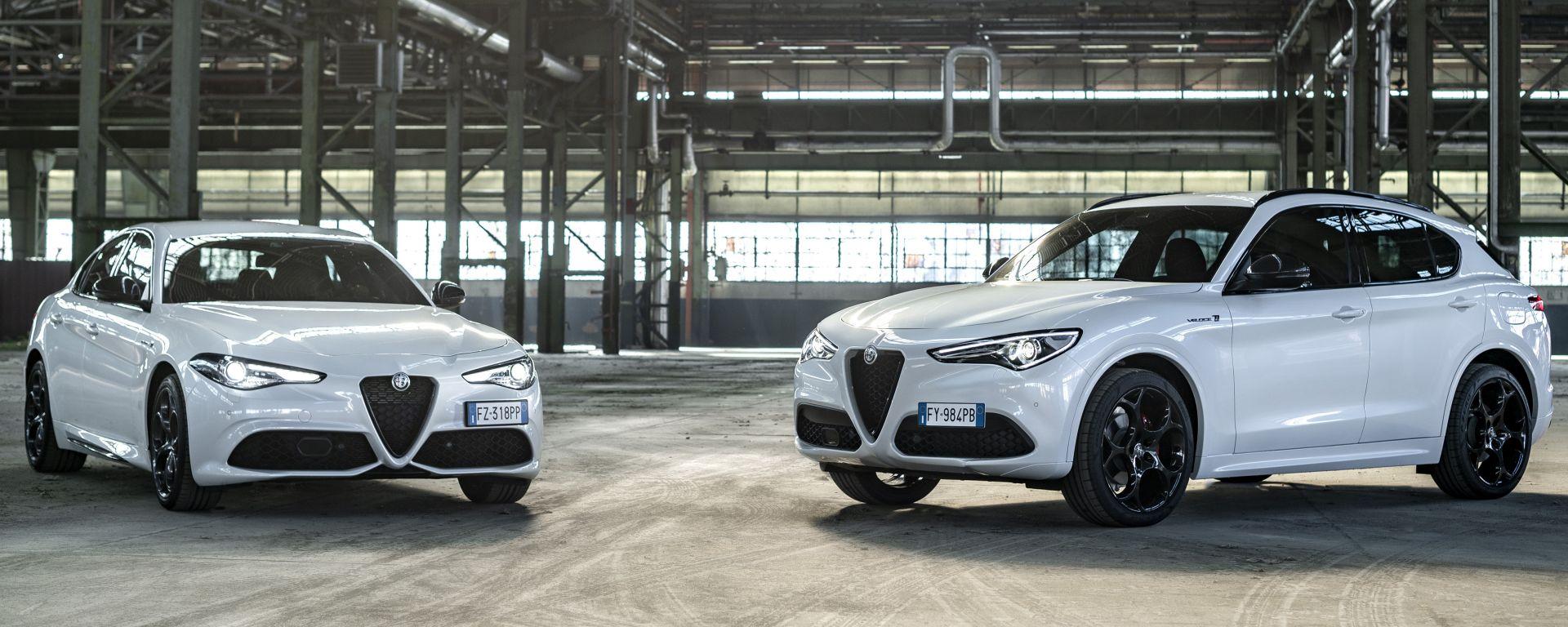 Alfa Romeo Giulia e Stelvio MY21