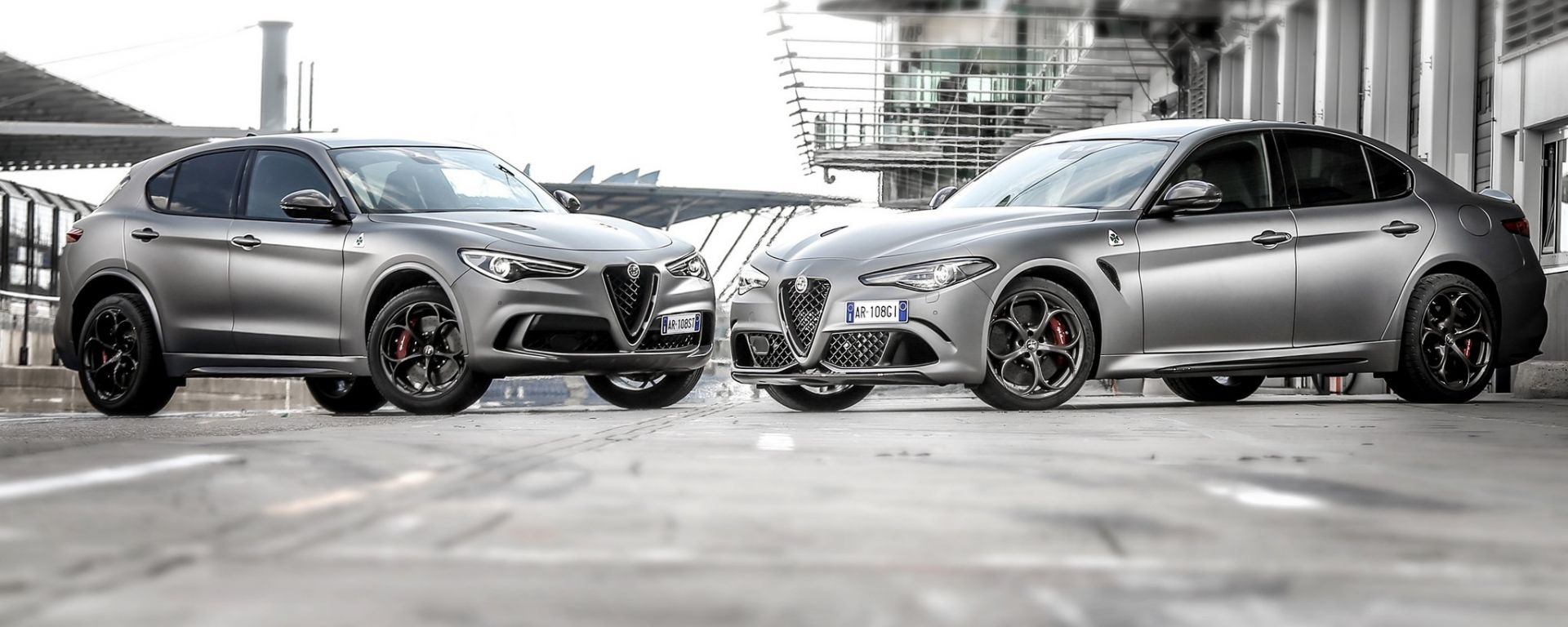 Alfa Romeo Giulia e Stelvio N-Ring