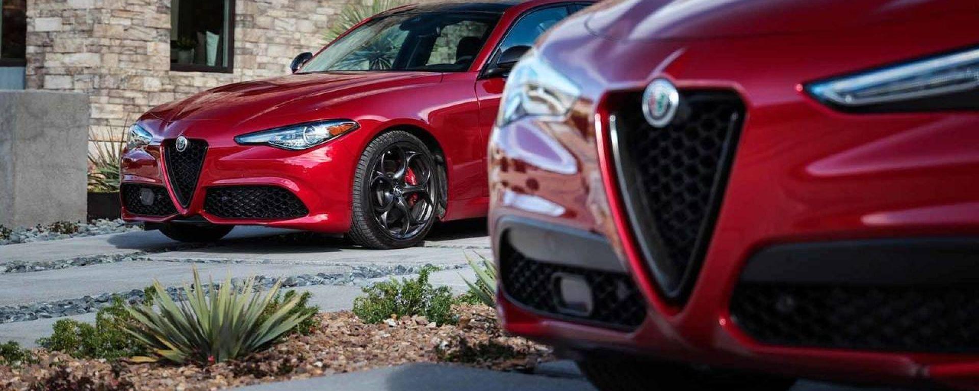 Alfa Romeo Giulia e Stelvio, niente ecotassa sui motori diesel