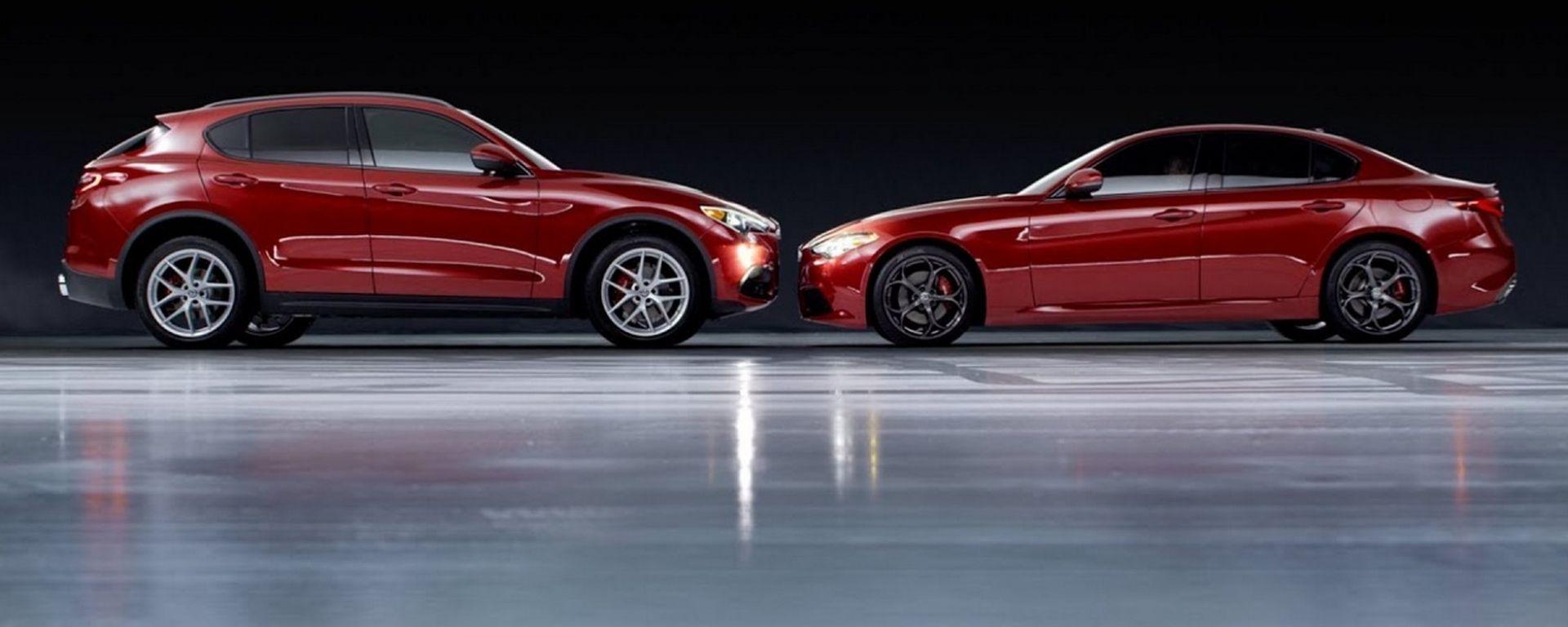 Alfa Romeo Giulia e Stelvio, più convenienti grazie a Bonus Impresa