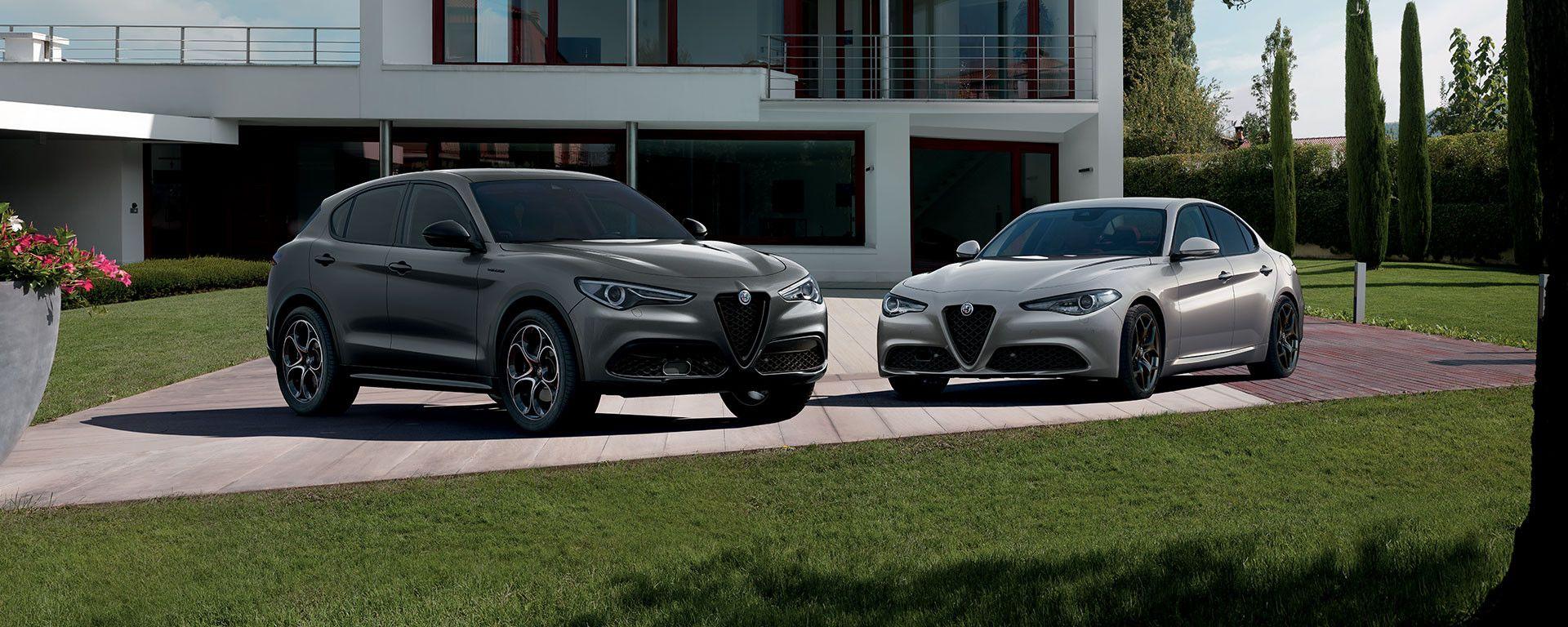 Alfa Romeo Giulia e Stelvio Web Edition: serie speciale acquistabile online