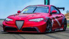 Alfa Romeo Giulia elettrica? Sì, ma è un prototipo da corsa - Immagine: 2