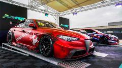 Alfa Romeo Giulia elettrica? Sì, ma è un prototipo da corsa - Immagine: 8