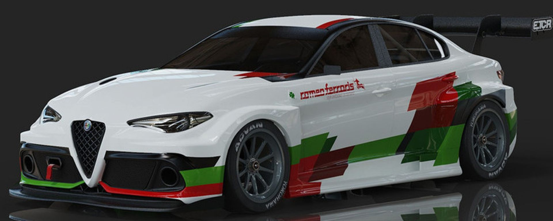 Alfa Romeo Giulia elettrica per l'ETCR, by Romeo Ferraris